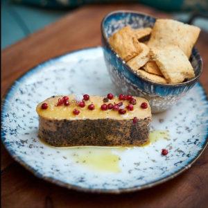 Foie gras a la sal