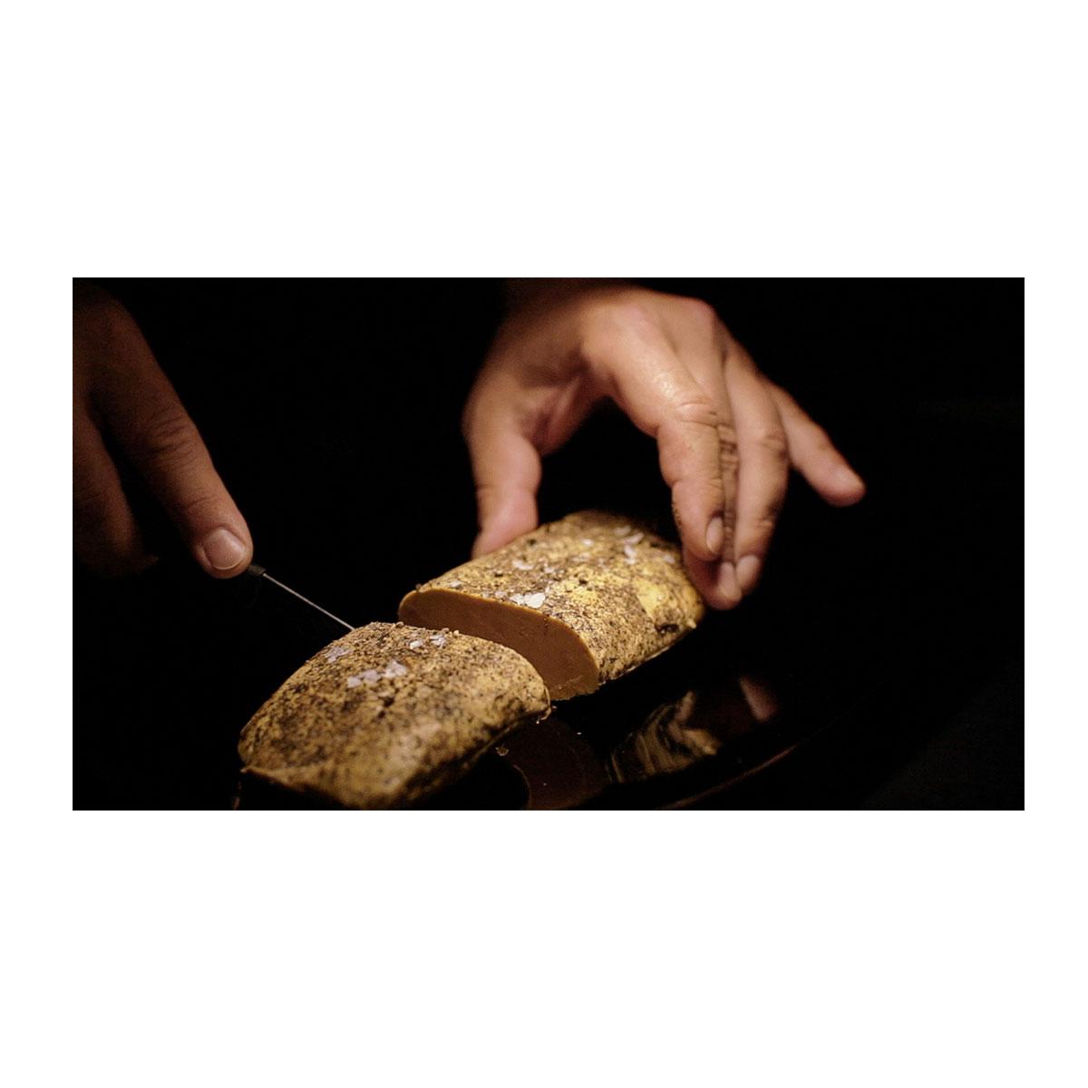 Lóbulo de Foie gras a la sal