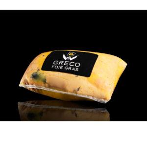 Foie gras mi-cuit al Armagnac trufado