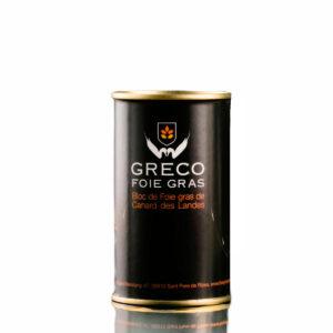 Bloc de foie gras 190g - Greco Foie gras